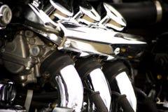 Motorradmotor Lizenzfreie Stockbilder