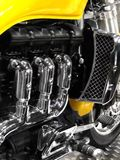 Motorradmotor Stockfotos