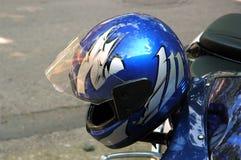 Motorradrüstung Stockfotografie