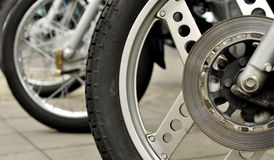 Motorradrad Lizenzfreies Stockbild