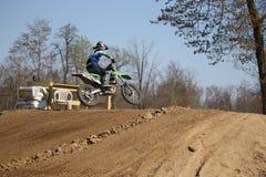Motorradreiter Lizenzfreies Stockfoto