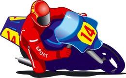 Motorradrennen Stockfoto