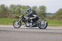 Motorradsprintrennläufer Stockbilder