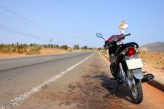 Motorradstraßenszene in Vietnam Lizenzfreies Stockbild