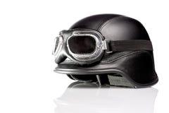 Motorradsturzhelm der AMERIKANISCHEN ARMEE Lizenzfreies Stockbild
