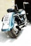 Motorradzerhacker Stockfotografie