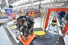 Motors car assembly line Stock Photo