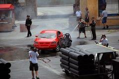 Motors Extreme Stunt show Stock Photos