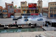 Motors Extreme Stunt show royalty free stock images