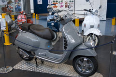 Motorscooter - Piaggio Museum in Pontedera Royalty Free Stock Photos