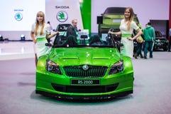 Motorshow Poznan 2014 Stock Afbeeldingen