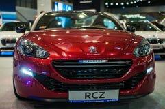Motorshow Poznan 2014 Stock Foto