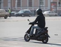motorsparkcykel Arkivbilder
