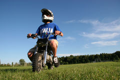 motorsparkcykel Arkivfoton