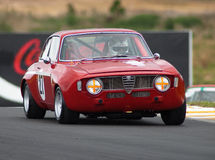 Motorsport 1969 Alfa Romeo Guilia GTA Royalty Free Stock Photography