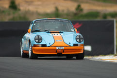 Motorsport 1973 Porsche 911 Gulf Royalty Free Stock Photo