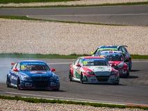 Motorsport Arkivfoton