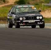 Motorsport BMW E30 320i Lizenzfreie Stockfotos