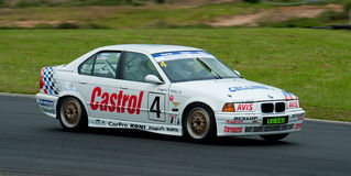 Motorsport BMW E34 5351 Royalty Free Stock Photos