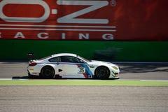 Motorsport BMW M6 GT3 di Walkenhorst a Monza Fotografia Stock