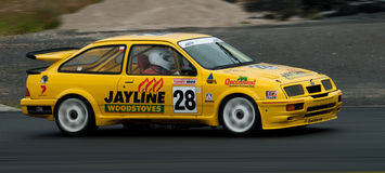 Motorsport Ford Sierra Cosworth Turbo Royalty Free Stock Images