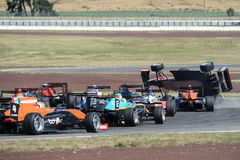 Motorsport, high speed crash Stock Photos