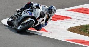 Motorsport Leon Haslam Superbike BMWs Motorrad Stockfotos