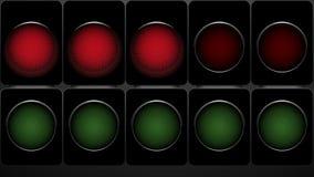 Motorsport racing lights stock video