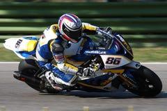 motorsport rr s1000 för ayrtonbadovinibmw Royaltyfri Bild