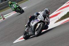 motorsport rr s1000 för bmw-haslamleon motorrad Royaltyfri Fotografi