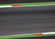 Motorsport Spur Lizenzfreies Stockbild