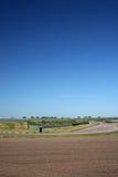 motorsportspår Arkivfoton