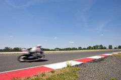 Motorsportsströmkrets Arkivbild