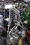 motorstrålturbin Arkivbild