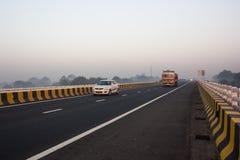 Motorväg Indien Royaltyfri Foto