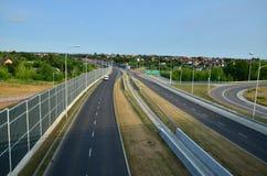 Motorväg S17 Arkivfoto