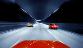 motorvägtrafik Royaltyfri Foto