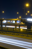 motorway över passerande Royaltyfri Fotografi