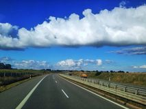 motorway imagem de stock royalty free