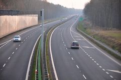 Motorway Royalty Free Stock Images