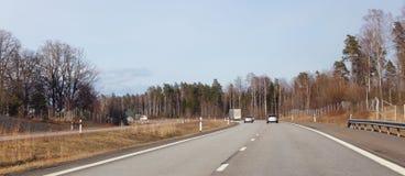 motorway imagem de stock