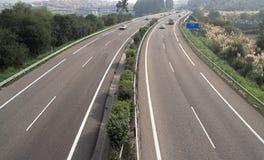 motorway Arkivfoton