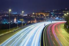 Motorway royalty free stock photography