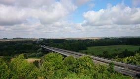 motorway Arkivfoto