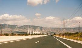 motorway Arkivbild