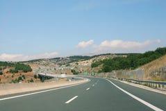 motorway Royaltyfri Bild