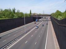 motorway royaltyfri fotografi