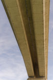 Motorway Bridge Royalty Free Stock Photos