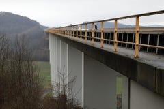 Motorway bridge near Eisenach. The motorway bridge near Eisenach royalty free stock photos
