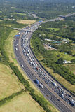 Motorway Congestion Royalty Free Stock Photography